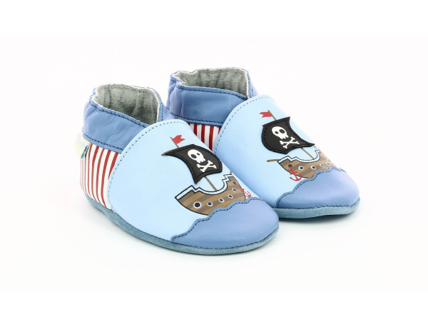 PIRATE'S BOAT LIGHT BLUE
