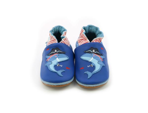 PIRATE SHARK DARK BLUE KLEIN
