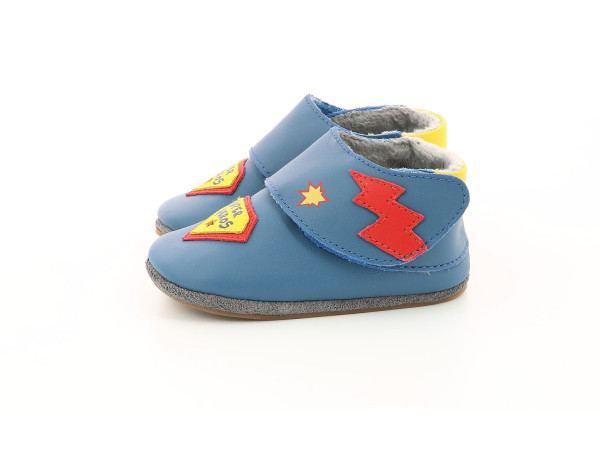 SUPER HEROS AZUL DENIM