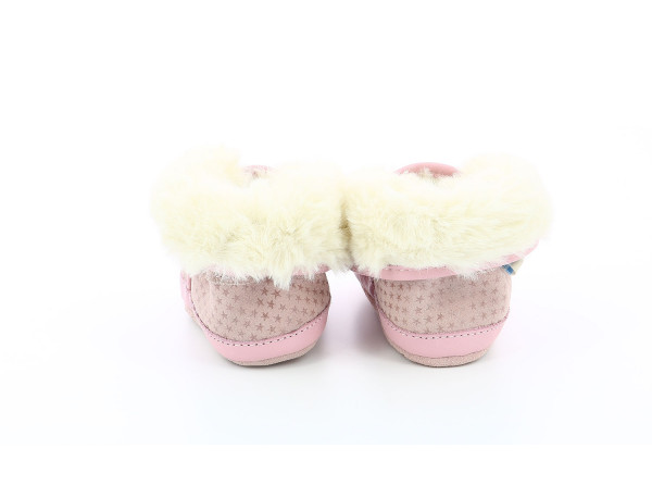 COSY BOOT PINK STARS