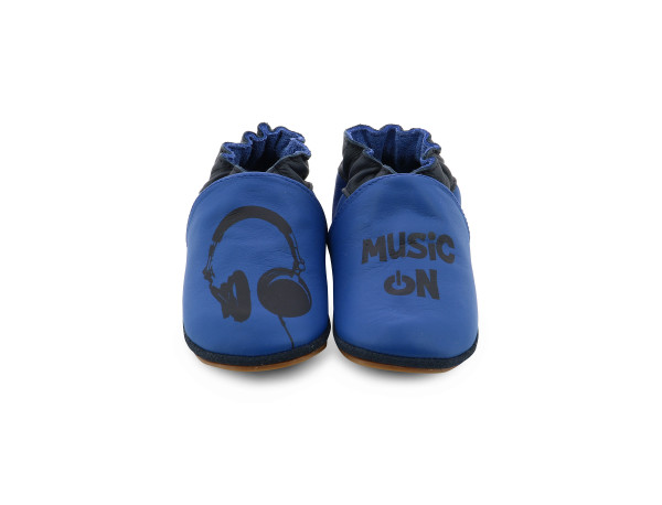 MUSIC ON AZUL OSCURO