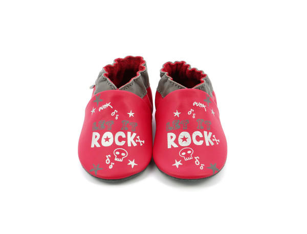 LET IT ROCK FUCHSIA GREY