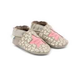 LEO JUNGLE GRIS TOPO ROSA