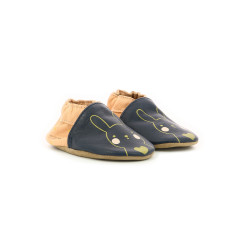 GOLDY RABBIT NAVY PINK