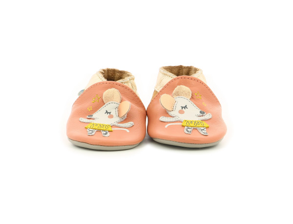 BALLET MOUSE PINK PEACH METAL