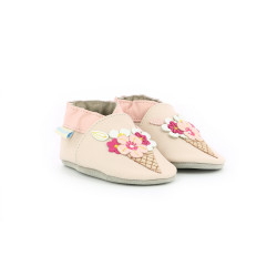 ICE FLOWERS BEIGE