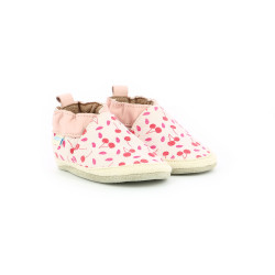 SUNNY CAMP LIGHT PINK CHERRY PRINT