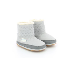 BOOTS GRIS CLARO