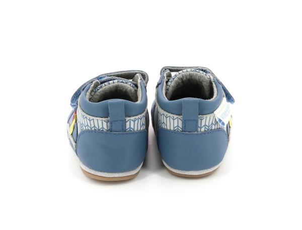 BEARY azul denim gris claro
