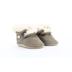 COSY BOOT LIGHT BROWN