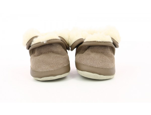 COSY WOOL LIGHT BROWN