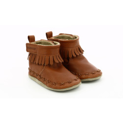 FUNKY SHOE BROWN MOKA