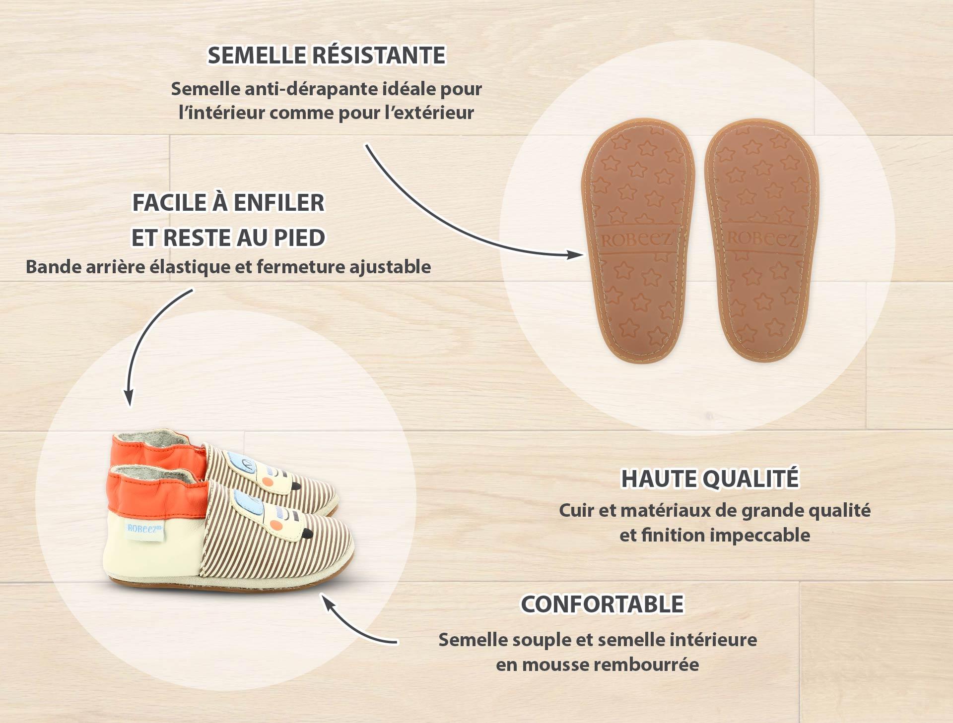 chaussures mini shoez de la marque Robeez