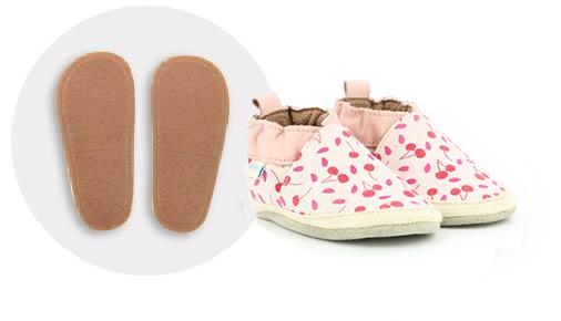 guide des pointures des chaussures mini shoez de la marque robeez