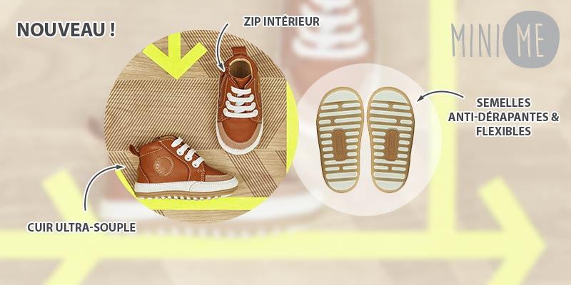 Les chaussures de pré-marches pour bébés